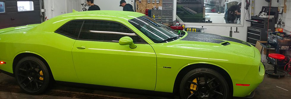 Green Automotive Tint